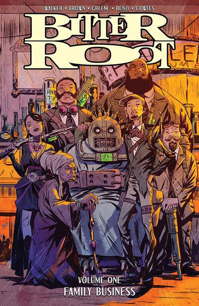 Bitter Root TPB Vol 01 Family Business