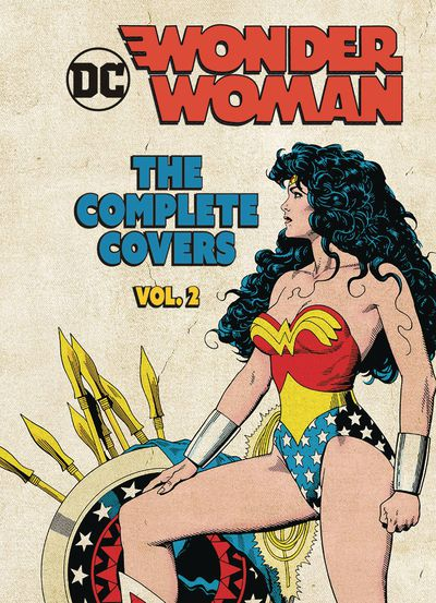 DC Comics Wonder Woman Comp Covers Mini HC Vol 02