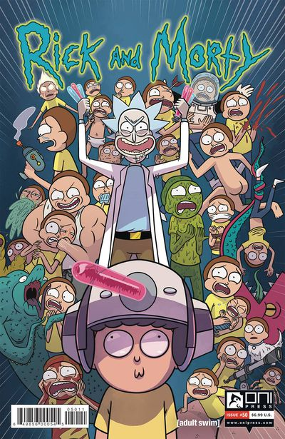 Rick & Morty #50 Cover A