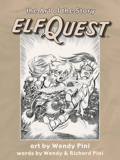 Art of the Story Elfquest HC