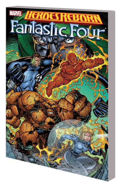 Heroes Reborn TPB Fantastic Four New Ptg