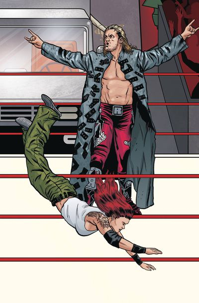 WWE #19 (Schoonover Raw Connecting Variant)