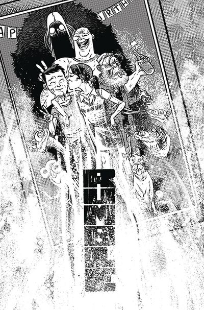 Rumble #14 (Cover A - B&W Rubin)