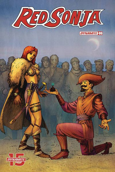 Red Sonja #6 (Cover D - Pace)