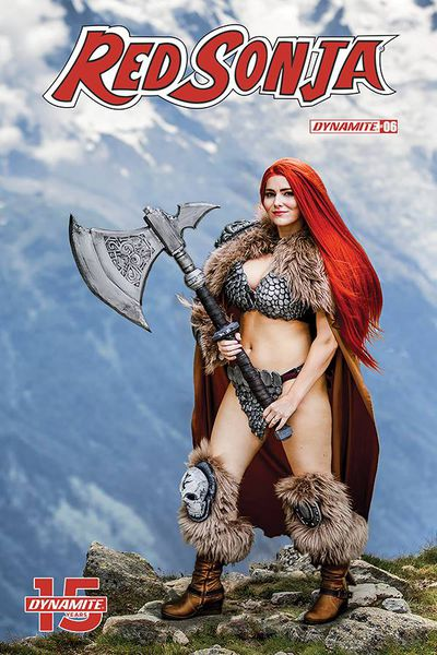 Red Sonja #6 (Cover E - Cosplay)