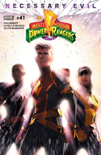 Mighty Morphin Power Rangers #41 (Cover A - Main Campbell)
