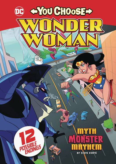 Wonder Woman You Choose SC Myth Monster Mayhem