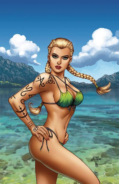Grimm Fairy Tales Presents Swimsuit Edition 2019 One Shot #1 (Cover B - Salonga)