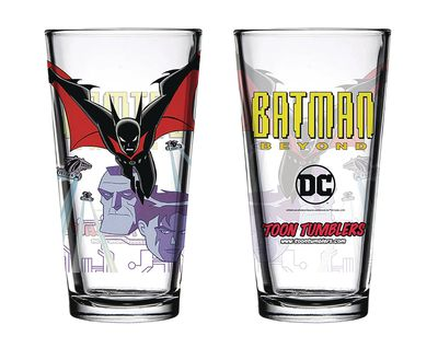 Toon Tumblers Batman Beyond Pint Glass