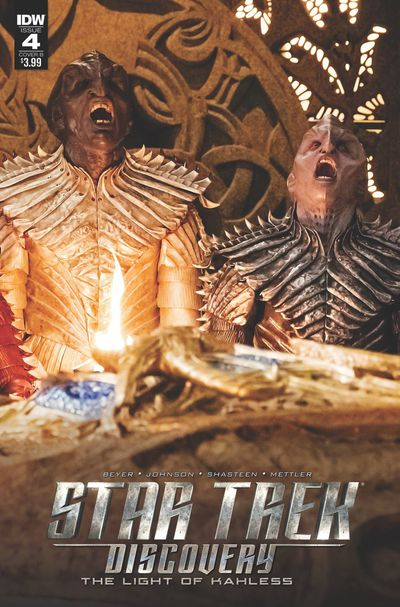 Star Trek Discovery #4 (Cover B - Photo)