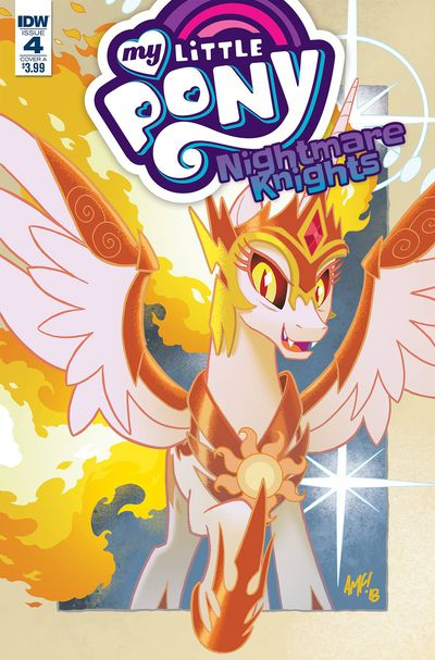 My Little Pony Nightmare Knights #4 (Cover A - Fleecs)