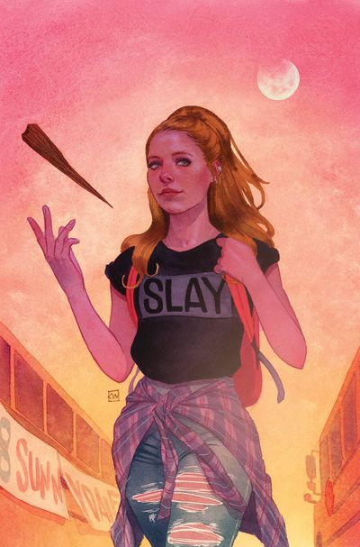 Buffy the Vampire Slayer #1 (Wada Variant)