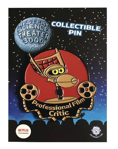 Mystery Science Theater Crow Film Critic Pin