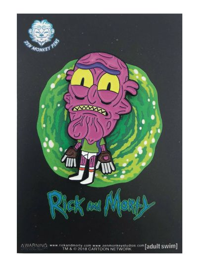 Rick and Morty Scary Terry in Undies Pin