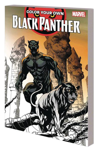 Color Your Own Black Panther TPB