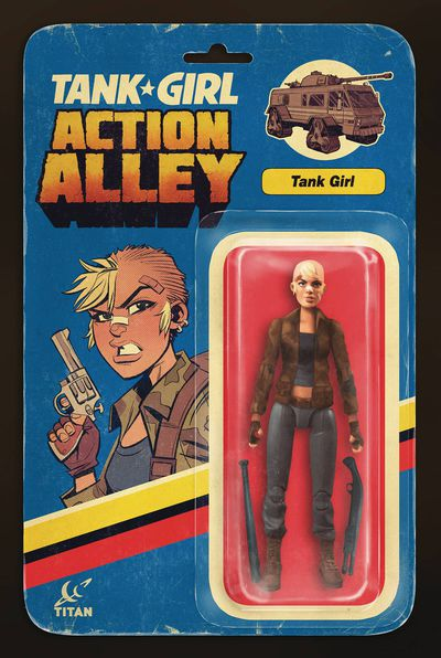 Tank Girl Action Alley #1 (Cover B - Action Figure)