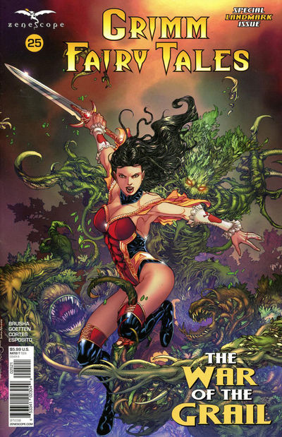 Grimm Fairy Tales #25 (Cover B - Tolibao)