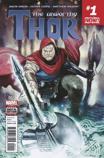 The Unworthy Thor comics at TFAW.com