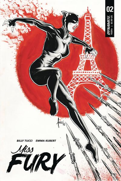 Miss Fury #2 (Cover A - Tucci)