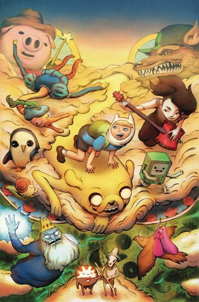 Adventure Time Season 11 #2 Preorder Benbassat