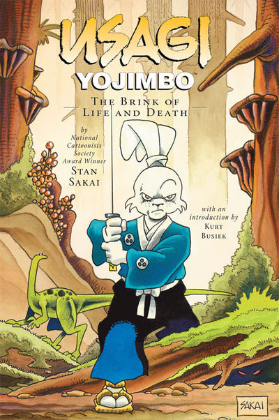 Usagi Yojimbo Vol. 10: The Brink of Life and Death TPB (2nd Ed)