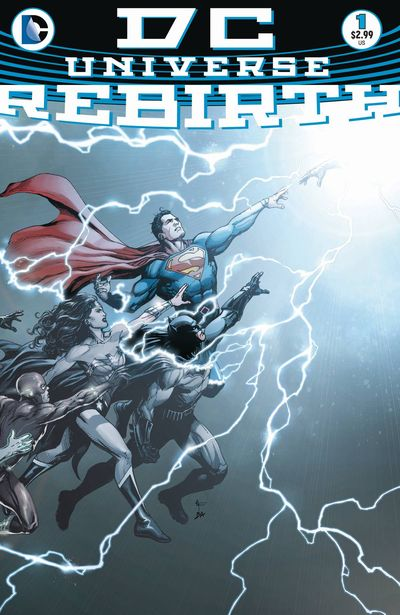 DC Universe Rebirth comics at TFAW.com