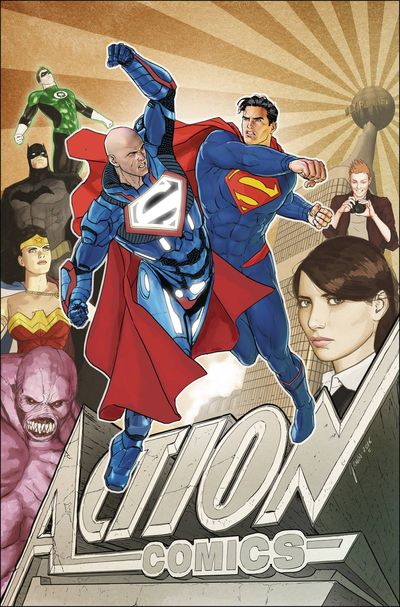 Action Comics at TFAW.com