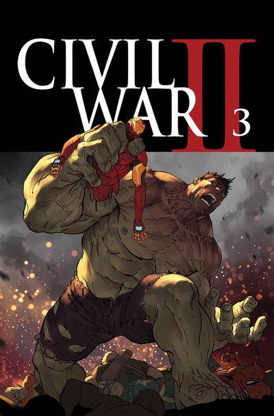 civil war II #3 cover