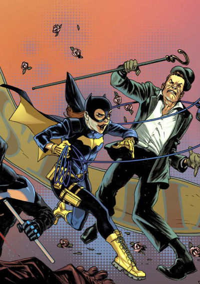 Batman Prelude to the Wedding Batgirl vs Riddler (One shot)