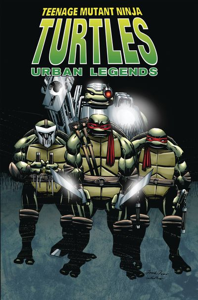 Teenage Mutant Ninja Turtles Urban Legends TPB Vol 1