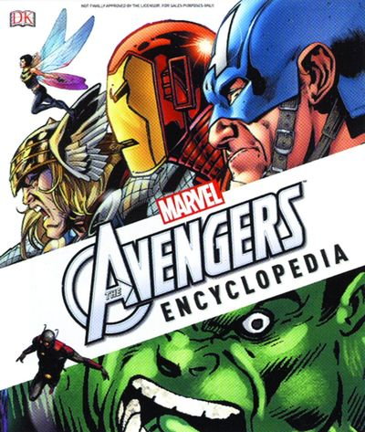 Marvels The Avengers Encyclopedia HC