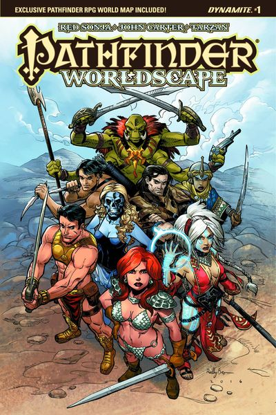 Pathfinder Worldscape #1 (of 6) (Cover A - Brown)