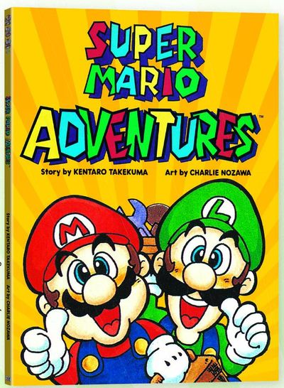 Super Mario Adventures Graphic Novel at TFAW.com
