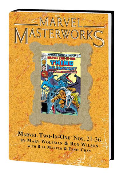Marvel Masterworks Marvel Two in One HC Vol. 03 (DM Variant) 256