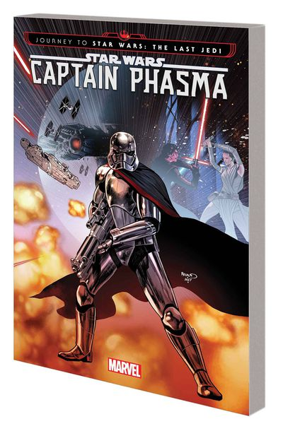Journey Star Wars Last Jedi Capt Phasma TPB