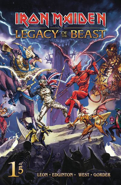 Iron Maiden Legacy Of The Beast #1 (of 5) (Cover C - Casas)