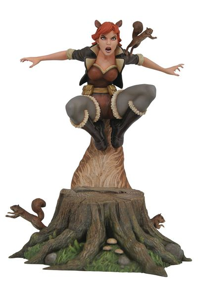 Marvel Gallery Squirrel Girl Comic PVC Figure