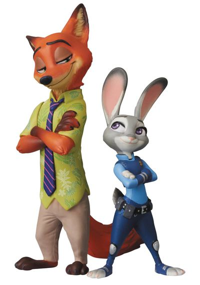 Disney Zootopia Judy Hopps & Nick Wilde Udf Figure Series 7