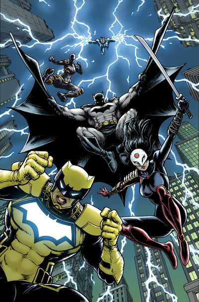Batman and the Outsiders #7 (Variant) (YOTV)