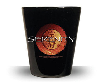 Serenity Logo Shot Glass