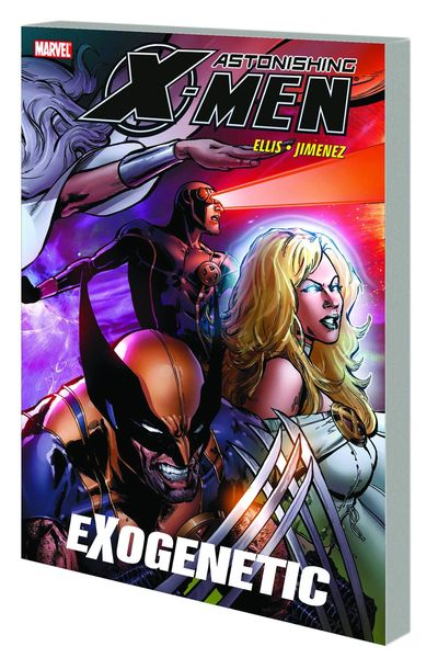 Astonishing X-Men TPB Vol. 6 Exogenetic - nick & dent