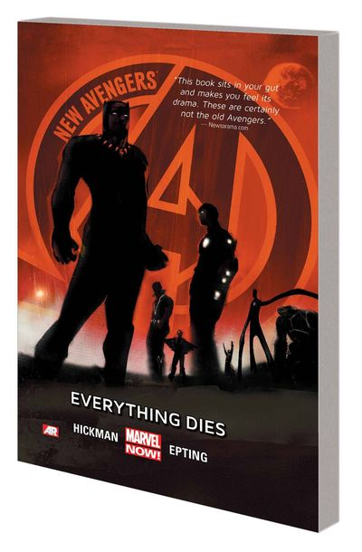 New Avengers TPB Vol. 01 Everything Dies