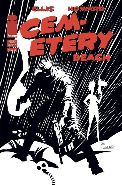 Cemetery Beach #6 (of 7) (Cover B - Impact Variant)