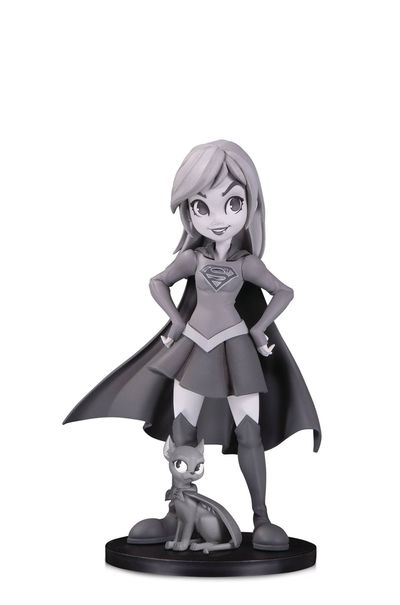 DC Artists Alley Supergirl B&W by Zullo PVC Figure