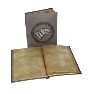 Game of Thrones House Stark Sigil Light Up Notebook