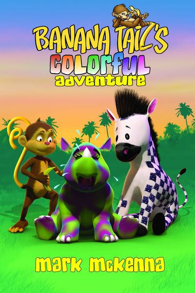 Banana Tails Colorful Adventure HC - nick & dent