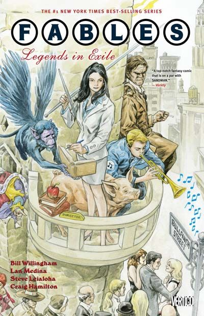 Fables Vol. 1: Legends In Exile Cover