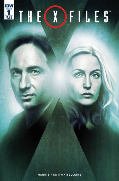 X-Files comics at TFAW.com