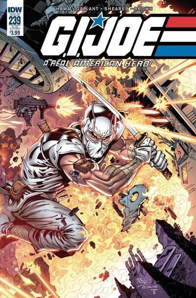 G.I. Joe A Real American Hero #239 (Subscription Variant)