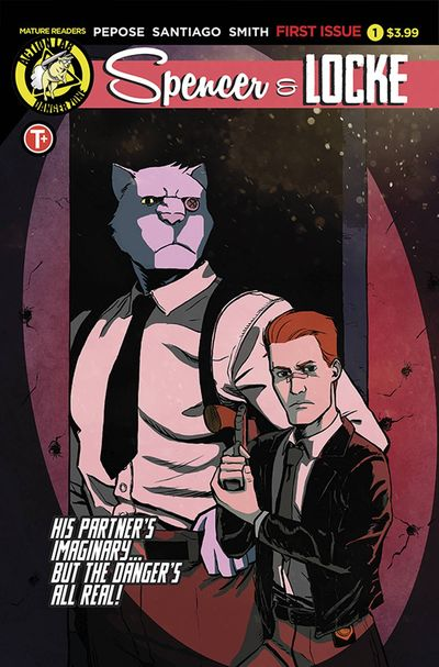 Spencer And Locke #1 (of 4) (Cover A - Santiago Jr)